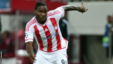 Nigeria striker Brown Ideye