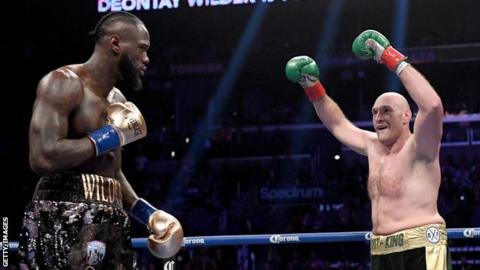 Fury and Wilder in heated Twitter exchange after cancellation of rematch