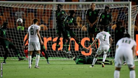 Africa Cup of Nations: Algeria beat Nigeria to reach final