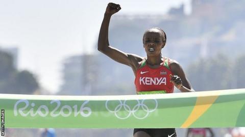 Kenya's Jemima Sumgong