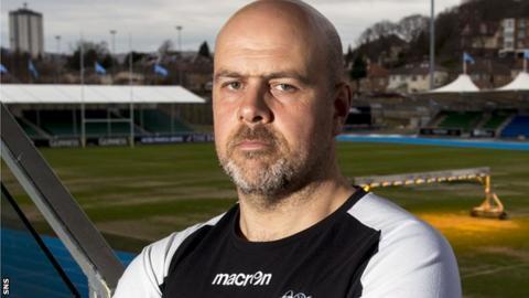 Glasgow assistant coach Dan McFarland