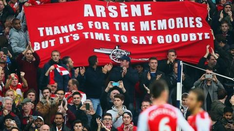 Arsenal fans prepare for life without Arsene Wenger