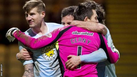 Partick Thistle beat Motherwell 1-0