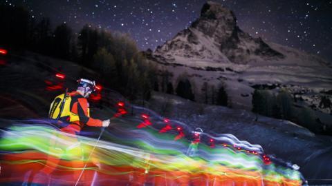 Glacier Patrol race