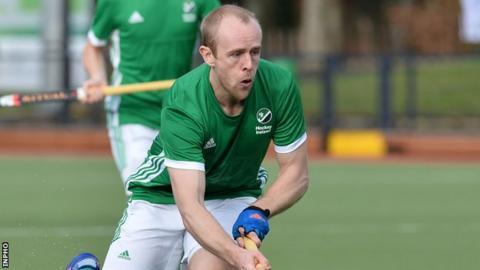 Eugene Magee scored the last of Ireland's five goals