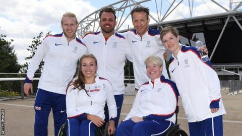 British Para-athletes