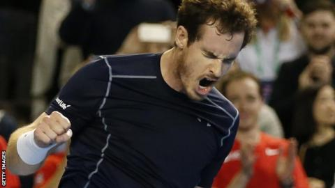 Murray's GB team began their defence with a win over Japan