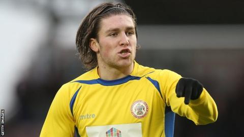 Accrington Stanley midfielder Josh Windass