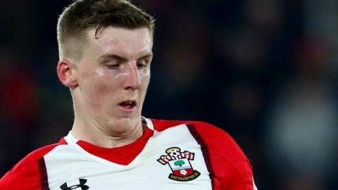 Southampton defender Matt Targett