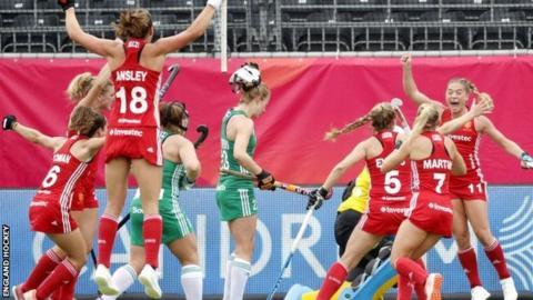 EuroHockey Championships 2019: England beat Ireland 2-1 in opener