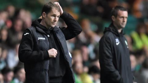 Alan Archibald will pit his wits against the Celtic manager Ronny Deila on Saturday