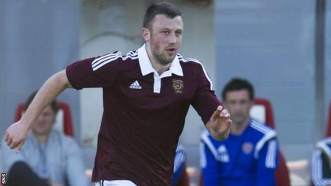 Dale Carrick left Hearts by mutual consent on Wednesday