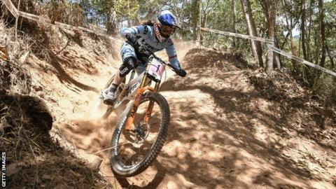 41955922538 Rachel Atherton: GB rider wins Mountain Bike World Cup gold in ...