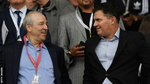 Swansea City owners Steve Kaplan and Jason Levien