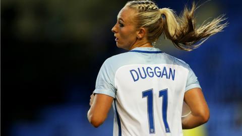 Toni Duggan of England