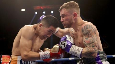 Leo Santa Cruz and Carl Frampton