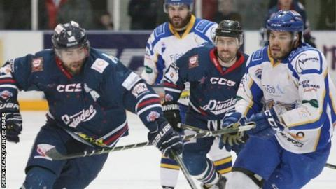 Dundee Stars against Fife Flyers