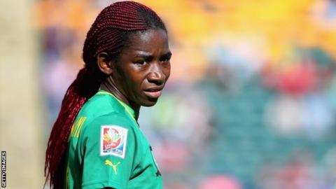 Cameroon's Madeleine 'Manie' Ngono