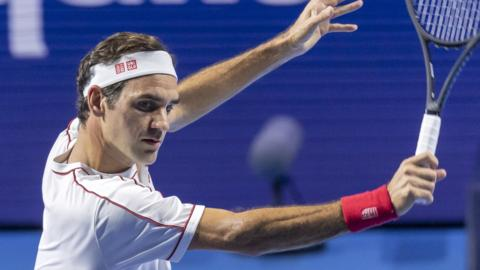 Roger Federer in Basel