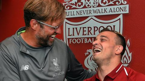 Liverpool football bbc sport liverpool sign shaqiri from stoke stopboris Images