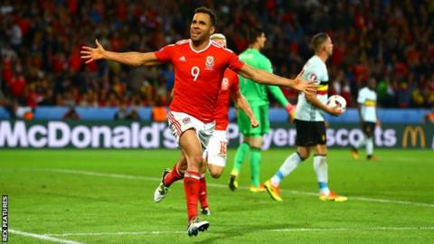 Hal Robson-Kanu's goal against Belgium helped Wales reach the semi-finals of Euro 2016