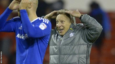 Neil Warnock, manager of Cardiff City