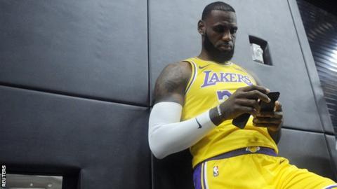 Lebron James La Lakers Move For Basketball Not Movies Says Nba