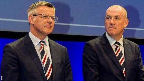 Stewart Robertson and Mark Warburton