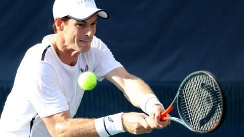 Andy Murray will play the Cincinnati Masters next week