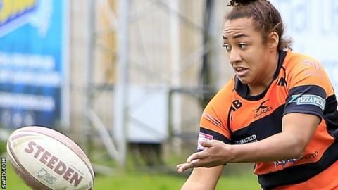 Kelsey Gentles of Castleford Tigers