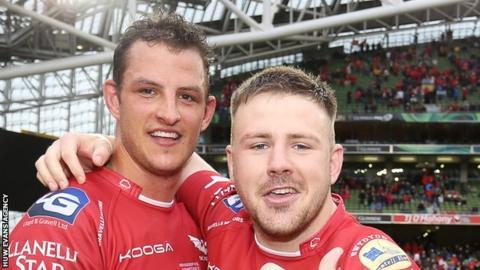 Aaron Shingler and Rob Evans