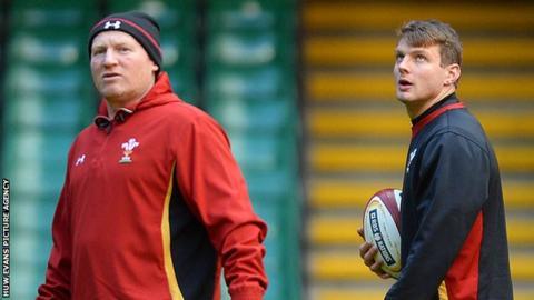 Neil Jenkins and Dan Biggar