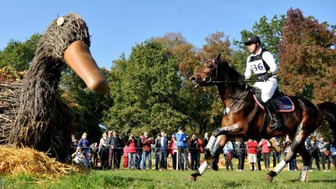 Russia's Miroslav Trunda rides Trnka Ruf