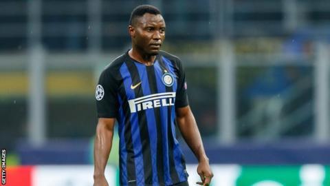 Inter Milan and Ghana's Kwadwo Asamoah