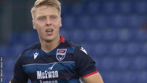 Ross County midfielder Jamie Lindsay