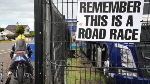 The Ulster Grand Prix's future has been under threat in recent months