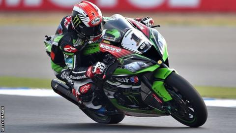 World Superbike champion Jonathan Rea