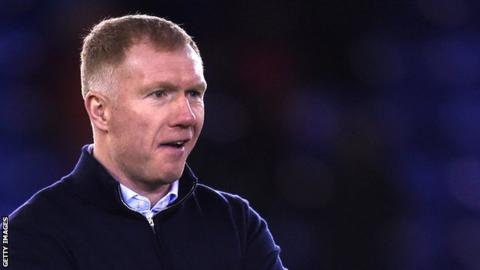 Paul Scholes is the fourth former England player to make his managerial debut in the EFL this season