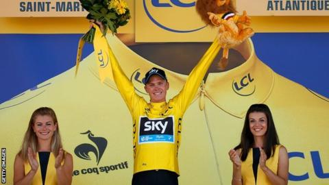 Chris Froome wins stage ten of the Tour de France