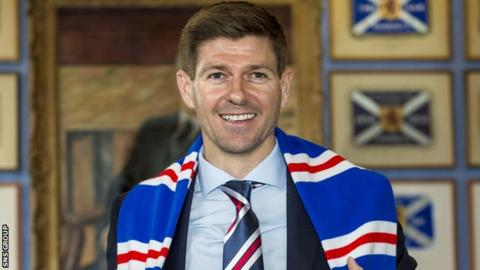 Rangers manager Steven Gerrard is busy reshaping the squad at Ibrox