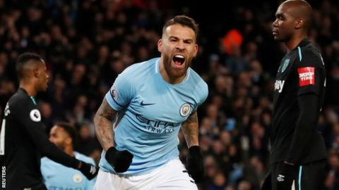 Nicolas Otamendi: Manchester City defender extends his contract until 2022