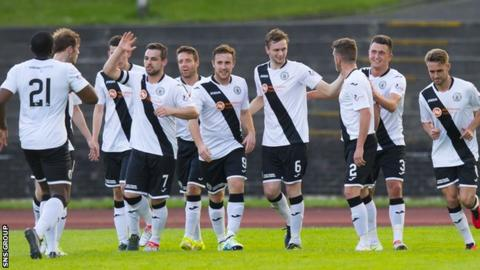 Edinburgh City scored twice in the opening 19 minutes at Meadowbank