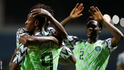 Second half substitute Odion Ighalo scored the only goal as Nigeria beat Burundi on Saturday