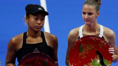 Efficient Pliskova proves too strong for 'tired' Osaka