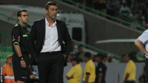 Pedro Caixinha has been in charge of Al Gharafa in Qatar since 2015
