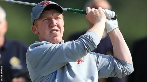 Gavin Moynihan was a member of the GB and Ireland Walker Cup team