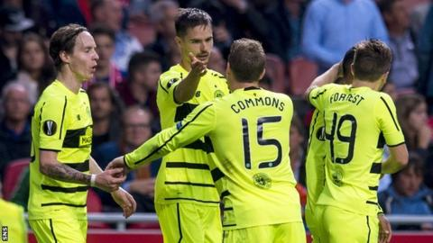 Celtic drew 2-2 in Amsterdam in their first Group A clash with Ajax