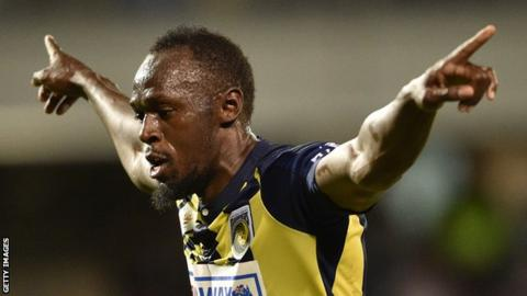 Usain Bolt offered Central Coast Mariners contract