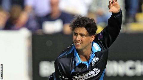 Worcestershire and England Lions all-rounder Brett D'Oliveira