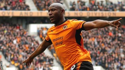 Wolverhampton Wanderers confirm Benik Afobe's move to Stoke City